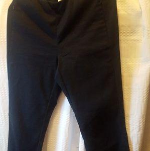 JJILL  cotton essential navy pants